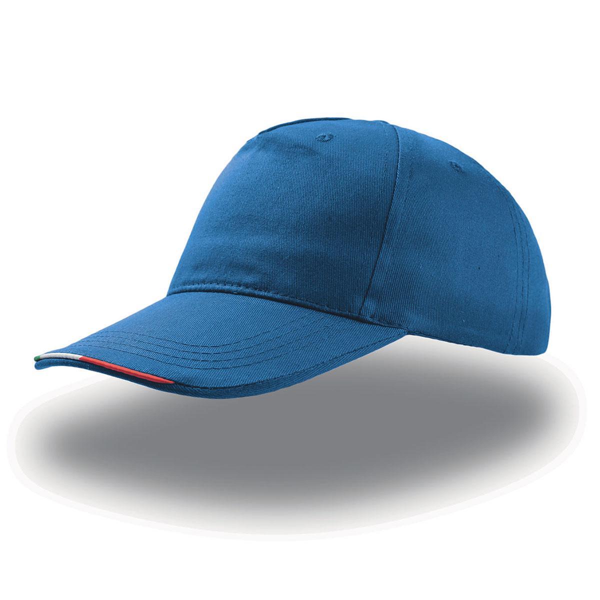 Cappellino con Visiera Bordo Tricolore Atlantis - Vestilogo 6ba5593f1788