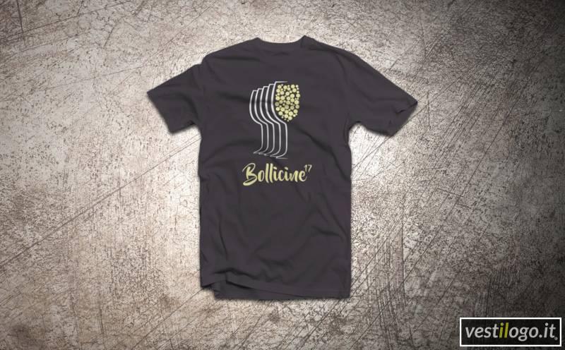 GCDS | T shirt E Gilet | T shirt Con Stampa | Nero