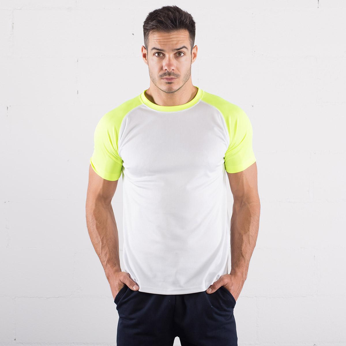ae89069eabd2 T-shirt Sport Manica Corta Bicolore Sprintex - Vestilogo